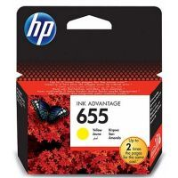 HP No.655 CZ112AE Yellow